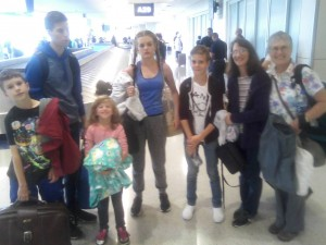 to texas- welcome family!