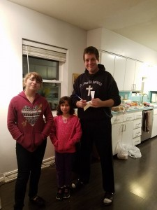 ...got a chance to meet my two latest biggest fans! :D