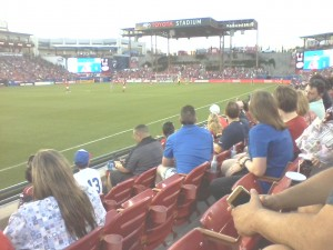 FC Dallas- great game!