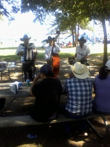 "...Nothing says ""Lone Star State like a Mariachi band at the lake in 90 degree weather."